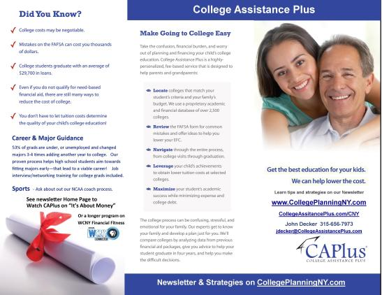 ..College Assistance Plus Brochure - inside website
